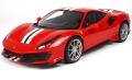 [予約]BBR MODELS 1/12 フェラーリ 488 ピスタ レッド ※リアルカーボン台座&ケース付