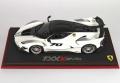 [予約]BBR MODELS 1/18 フェラーリ FXXK-EVO ダイキャスト メタルホワイト ※ケース付き