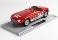[予約]BBR MODELS 1/18 フェラーリ 340 スパイダー ピニャーレ ミッレミリア 1953 #547 レッド