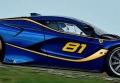 [予約]BBR MODELS 1/43 フェラーリ FXX K 2016 #81 ブルー