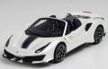 [予約]BBR MODELS 1/43 フェラーリ 488 Pista スパイダー ホワイト