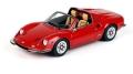 [予約]BBR MODELS 1/43 フェラーリ ディーノ 246 GTS 1972 レッド