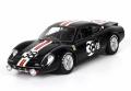 [予約]BBR MODELS 1/43 フェラーリ 206 GT 12H Sebring 1969 #38 ブラック