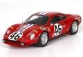 [予約]BBR MODELS 1/43 フェラーリ Dino 246 GT N.A.R.T. ル・マン24時間 1972 #46 レッド