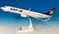 エバーライズ 1/130 737-800W スカイマーク  JA737X(青ハート)