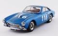 [予約]BEST MODELS(ベストモデル) 1/43 フェラーリ 250 GTL タルガフローリオ 1965 116 #Blouin/Sauer