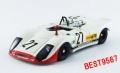BEST MODELS(ベストモデル) 1/43 ポルシェ 908/02 FLUNDER 1970 ホッケンハイム N. Lauda  #21