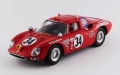 BEST MODELS(ベストモデル) 1/43 フェラーリ 250 LM デイトナ24時間 1968#34 Gunn/Ortega/Merello クラスS優勝車