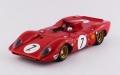 BEST MODELS(ベストモデル) 1/43 フェラーリ 312P スパイダー ニュルブルクリンク1000km 1969#7 Rodriguez/Amon