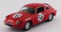 [予約]BEST MODELS(ベストモデル) 1/43 フィアット アバルト 700S ル・マン24時間 1961 #56 Bassi/Rigamonti