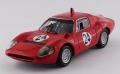 [予約]BEST MODELS(ベストモデル) 1/43 アバルト 1300 OT トレント ボンドーネ 1968 #24 KarlFederhofer 優勝車