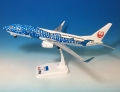 エバーライズ 1/130 737-800W JAPAN TRANSOCEAN AIR JA05RK