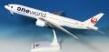 エバーライズ 1/200 777-200 JAPAN AIRLINES ONEWORLD JA771J ※プラスチック製、スナップフィット、スタンド仕様