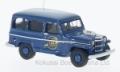 [予約]BoS Models 1/87 ジープ ウィリス ステーション ワゴン ミシガン州 警察 1954 ブルー