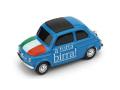 [予約]BRUMM(ブルム) 1/43 フィアット ニュー 500 イタリア Parto in quarta! - A tutta birra!