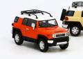 MODEL 1(モデルワン) 1/64 トヨタ クルーザー TOYOTA FJ CRUISER  XJ10 (LHD) マグマ オレンジ