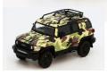 MODEL 1(モデルワン) 1/64 トヨタ クルーザー TOYOTA FJ CRUISER  XJ10 (LHD) カモフラグリーン