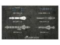 Calibre Wings(カリバ―ウイングス) 1/72 Su-24、Su-22用 ミサイル&爆弾セット