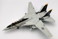 Calibre Wings(カリバ―ウイングス) 1/72 F-14A アメリカ海軍 VF-84 ジョリーロジャース AJ201 No.162692