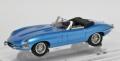 センチュリードラゴン 1/43 ジャガー Eタイプ シリーズ1 コンバーチブル シルバーブルー 1961