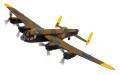 CORGI 1/72 アブロ ランカスター B MKIII- LM739 HW Z2 Grogs the Shot イギリス空軍 No.100戦隊 エルシャムウォルズ 1945.4.25