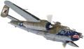 CORGI 1/72 ノースアメリカン B-25J ミッチェル 'Betty's Dream' 499th BS 345th BG 家島 沖縄 1945