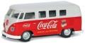 [予約]CORGI(コーギー) 1/43 フォルクスワーゲン Camper 1960's (前期型) Coca Cola