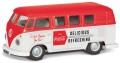 [予約]CORGI(コーギー) 1/43 フォルクスワーゲン Camper 1960's (後期型) Coca Cola