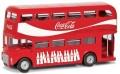 [予約]CORGI(コーギー) 1/64 ロンドンバス(2階建て) Coca Cola