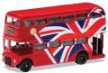 [予約]CORGI(コーギー) 1/64 ロンドン 2階建バス ユニオンジャック(レッド)Best of British