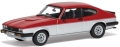 [予約]CORGI(コーギー) 1/43 フォード カプリ Mk3 3.0S(レッド/ストラトシルバー)