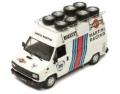 [予約]ixo (イクソ) 1/43 フィアット デュカート Assistenza Lancia Martini 984 タイヤ積載ルーフラック付