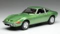 [予約]ixo (イクソ) 1/43 オペル GT 1969 メタリックグリーン