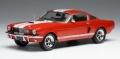[予約]ixo (イクソ) 1/43 フォード マスタング シェルビー GT 350 1965 レッド