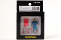 CAR-NEL (カーネル) 1/43 フィギュア ガレージメカニック シャーシメンテナンスセット ※限定300個
