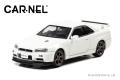 [予約]CAR-NEL (カーネル) 1/43 日産 スカイライン GT-R VspecII Nur (BNR34) 2002 ホワイトパール ※限定500台