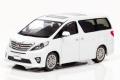 CAR-NEL (カーネル) 1/43 トヨタ アルファード 350S TYPE GOLD II 2013 ホワイトパールクリスタルシャイン *500pcs
