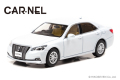 CAR-NEL (カーネル) 1/43 トヨタ クラウン ロイヤルサルーン G (GRS210) 2016 ホワイトパール クリスタルシャイン 限定300台