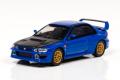 CAR-NEL (カーネル) 1/64 スバル インプレッサ 22B Sti Version 1998 ブルー/カーボンファイバーボンネット ※限定999台