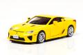 【お1人様1個まで】CAR-NEL (カーネル) 1/64 レクサス LFA 2010 イエロー ※限定999台