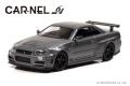 CAR-NEL (カーネル) 1/64 NISMO R34 GT-R Z-tune 2004 グレーメタリック ※限定999台