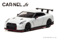 CAR-NEL (カーネル) 1/64 Nissan GT-R NISMO N Attack Package  (R35) 2015 パールホワイト ※限定999台