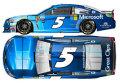 [予約]ライオネルレーシング 1/64 NASCAR Cup Series 2017 Chevrolet SS Microsoft #5 Kasey KahneR