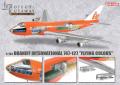 """【SALE】DRAGON(ドラゴン) 1/144 ブラニフ航空 747-127 """"フライングカラーズ"""" 塗装済み半完成キット"""