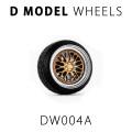 D MODEL 1/64用 ドレスアップパーツシリーズ Wheels No.4 (Silver/Gold)
