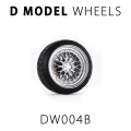D MODEL 1/64用 ドレスアップパーツシリーズ Wheels No.4 (Silver)