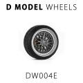 D MODEL 1/64用 ドレスアップパーツシリーズ Wheels No.4 (Silver/Gray)
