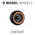 D MODEL 1/64用 ドレスアップパーツシリーズ Wheels No.4 (Copper/Black)