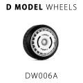 D MODEL 1/64用 ドレスアップパーツシリーズ Wheels No.6 Spirit (White)