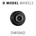 D MODEL 1/64用 ドレスアップパーツシリーズ Wheels No.6 Spirit (Black)